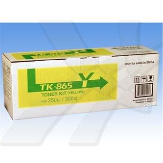 Toner Kyocera Mita 250Ci/300Ci/400Ci/500Ci, yellow, TK865Y, O