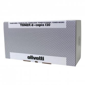 Toner Olivetti D-Copia 120, 150, black, B0439, 3500s, O
