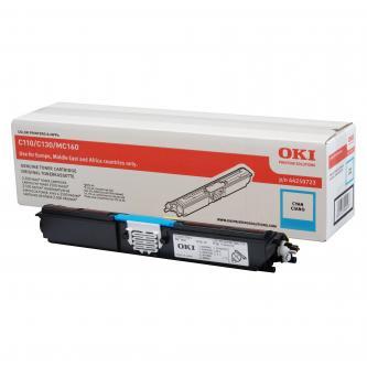 Toner OKI C110/130n/MC160, cyan, 44250723, 2500s, O