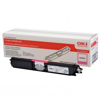 Toner OKI C110/130n/MC160, magenta, 44250722, 2500s, O