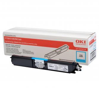 Toner OKI C110/130n/MC160, cyan, 44250719, 1500s, O