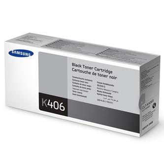 Samsung originální CLT-K406S, black, 1500str., Samsung CLP-360, 365, CLX-3300, 3305