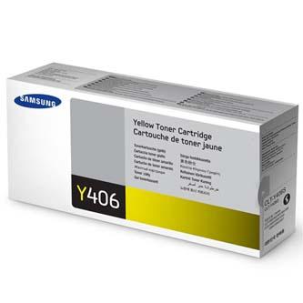 Samsung originální CLT-Y406S, yellow, 1000str., Samsung CLP-360, 365, CLX-3300, 3305