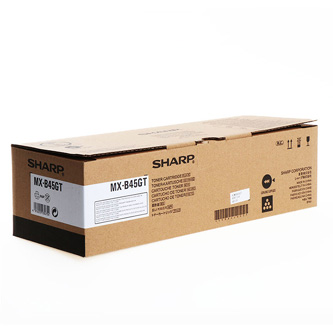 Sharp originální toner MX-B45GT, black, 30000str., Sharp MX-B350P/ MX-B355W/ MX-B450P/ MX-B455W