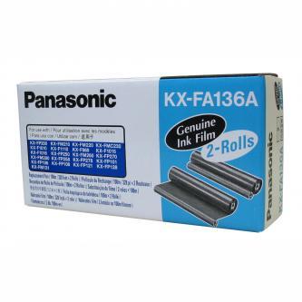 Fólie do faxu Panasonic Fax KX-F 1810, KX-FP 151, 152, 245, KXFM 205, 220, KX-FA136A (E), 2*100m, 2ks, O
