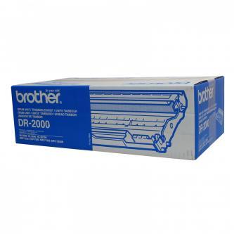 Brother originální válec DR2000, black, 12000str., Brother HL-20x0, MFC-7420